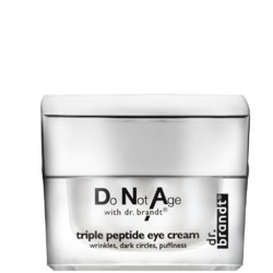 Dr. Brandt DoNotAge with dr. brandt triple peptide eye cream