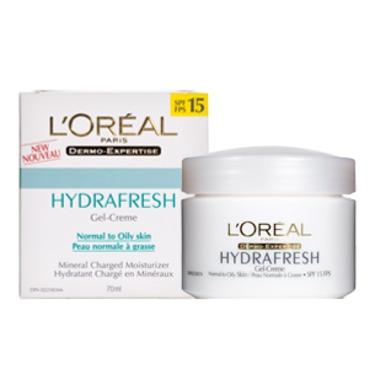 L'Oreal Hydrafresh Gel-Creme spf 15