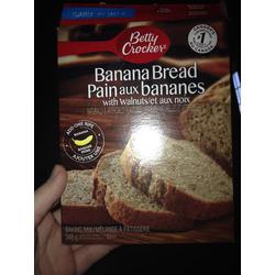 Betty Crocker Banana Bread with Walnuts Baking Mix