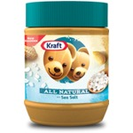 Kraft All Natural Peanut Butter with Sea Salt