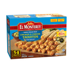 El Monterey Taquitos Chicken and Cheese