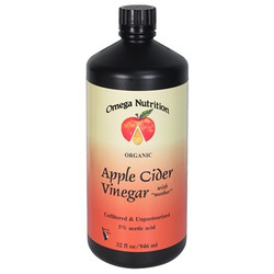 Omega Nutrition Organic Apple Cider Vinegar