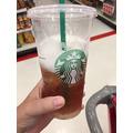 Starbuck's Teavana Shaken Peach Citrus White Tea Infusion