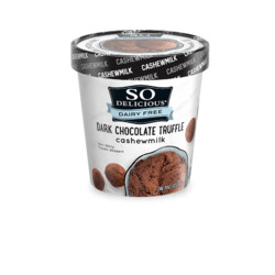 So Delicious Cashew Dark Chocolate Truffle Non-Dairy Frozen Dessert