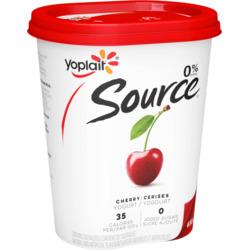 Yoplait Source Cherry Yogurt