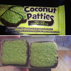 Anastasia Confections Coconut Patties in Key Lime
