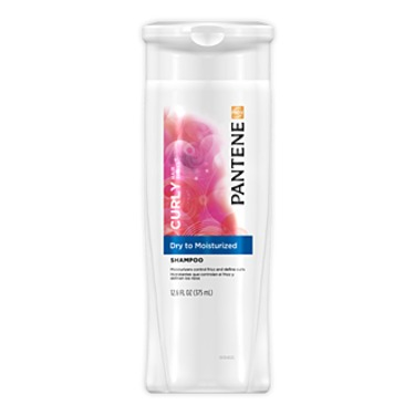 Pantene Pro V Curly Hair Series- Dry to Moisturized