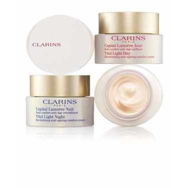 Clarins Vital Light Day and Night Creams