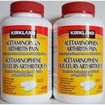 kirkland acetaminophen arthritis