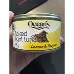 Ocean's Flaked Light Tuna- Lemon & Pepper