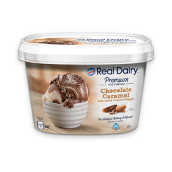 Real Dairy Chocolate Caramel Ice Cream