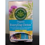 Traditional Medicinals Organic Everyday Detox Tea Lemon