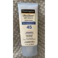 Neutrogena Ultra Sheer Face Sunscreen SPF 45