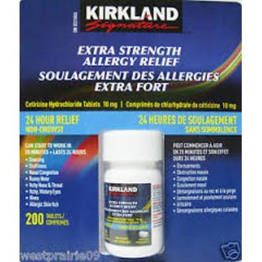 Kirkland Extra Strength Allergy Relief