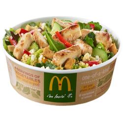 McDonalds Greek Salad Entrée