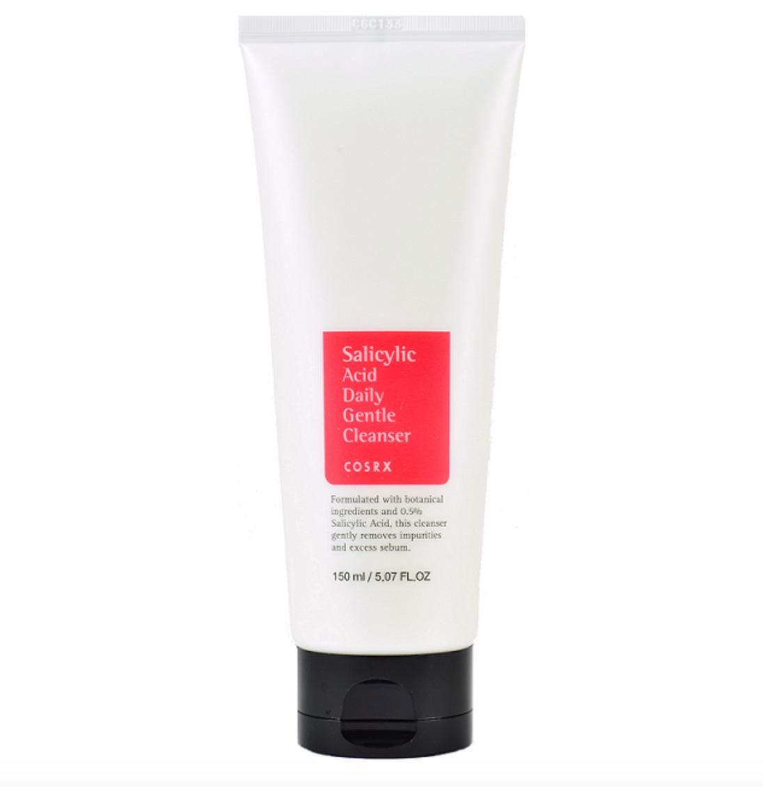 Salicylic acid facial wash