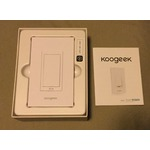 Koogeek Wi-Fi Enabled Smart Light Switch for Apple HomeKit Home Wall Switch