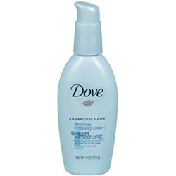 Dove Advanced Care Sheer Moisture Anti-Frizz Finishing Cream