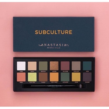 Anastasia Beverly hills - Subculture Palette