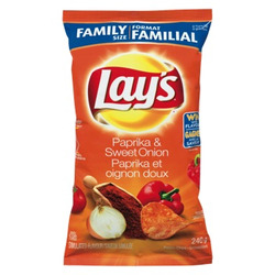 Lays Paprika & Sweet Onion