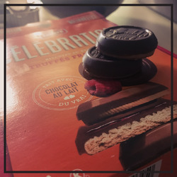 Celebration Raspberry Truffle Cookies