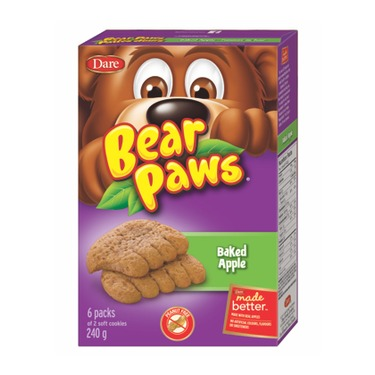 Dare Bear Paws Baked Apple