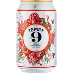 Tempt 9 Cider Strawberry & Lime