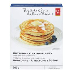 President's Choice Buttermilk Extra Fluffy Pancake and Waffle Mix