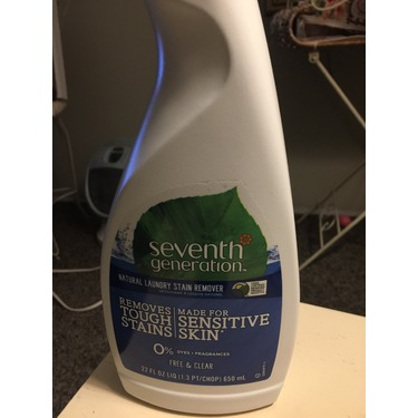 Seventh Generation Laundry Spray Stain Remover
