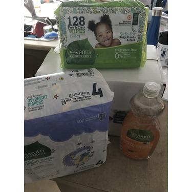 Seventh Generation Dish Liquid - Clementine Zest & Lemongrass Scent