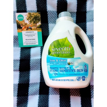 Seventh Generation Liquid Laundry Detergent - Free & Clear