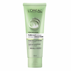 L'Oreal Paris Pure-Clay Cleanser Purifying and Mattifying