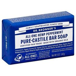 Dr. Bronner's Pure Castile Peppermint Soap