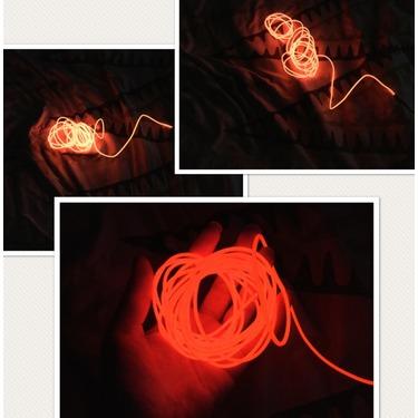 Lysignal 9ft Neon Glowing Strobing Electroluminescent Light Super ...