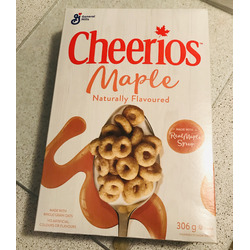 Cheerios Maple Naturally Flavored Cereal