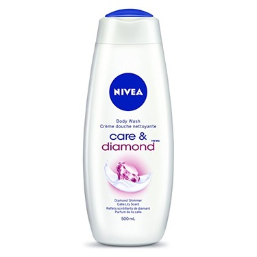 Nivea body wash care & diamond