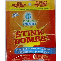 Nature Clean Stink Bombs Odour Remover for Laundry