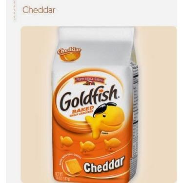 Goldfish Baked Whole Grain Cheddar