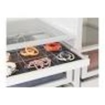 Komplement pull out tray with divider