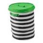 Flyttbar basket with lid
