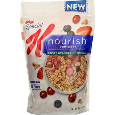 Special K Nourish Very Berry Crispy Granola
