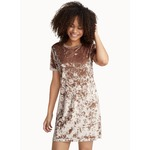 TWIK Crushed velvet dress
