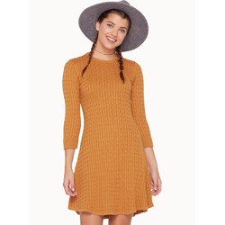 TWIK Mini cable knit dress