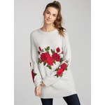TWIK Romantic roses sweater