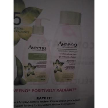 AVEENO Positively Radiant Exfoliating Body Wash