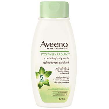 AVEENO Positively Radiant Exfoliating Body Wash