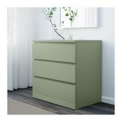 Malm 3 drawer chest