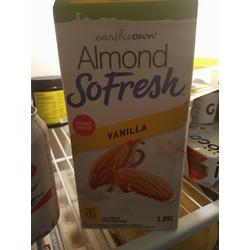 Earths own almond so fresh vanilla