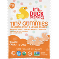 Little Ducks Organics Tiny Gummies (Orange & Goji)