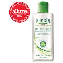 Simple Skincare CLEANSING MICELLAR WATER